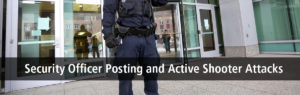 Security Officers and Active Shooter Attacks