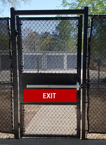 Secure Egress Gate
